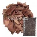 Щепа декоративная коричневая 60 л