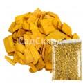 Щепа декоративная жёлтая 60 л