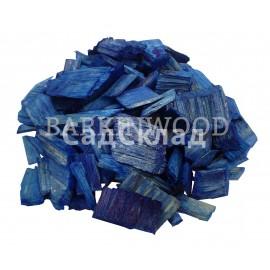 Щепа декоративная синяя 60 л ...